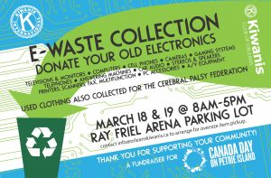 ewaste collection flyer