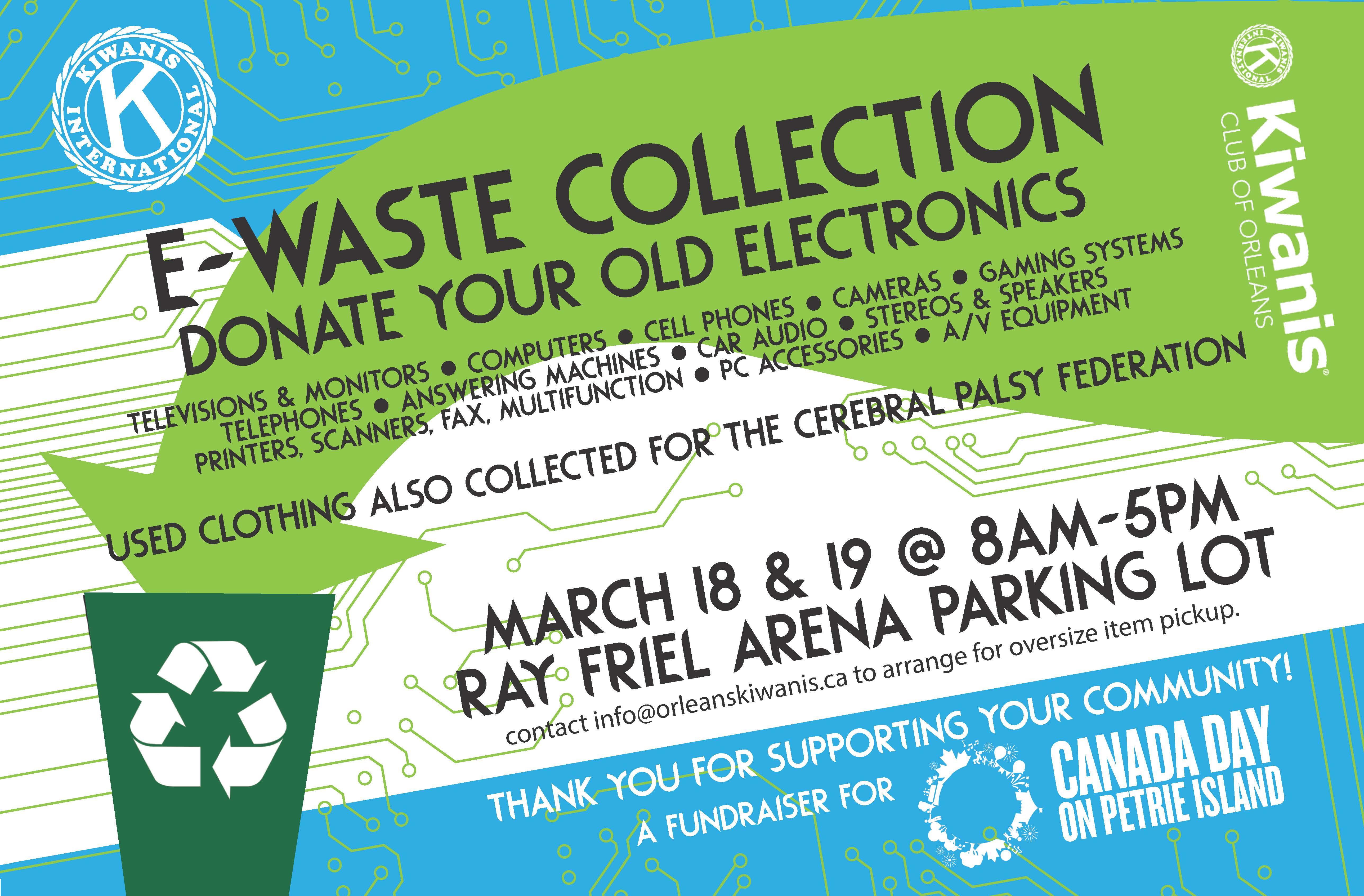 ewaste collection flyer