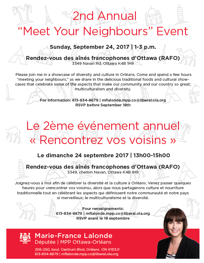 "2nd Annual ""Meet Your Neighbours"" Event"